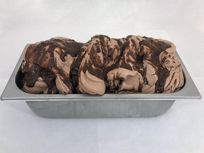 Helado de Chocolate y Avellana