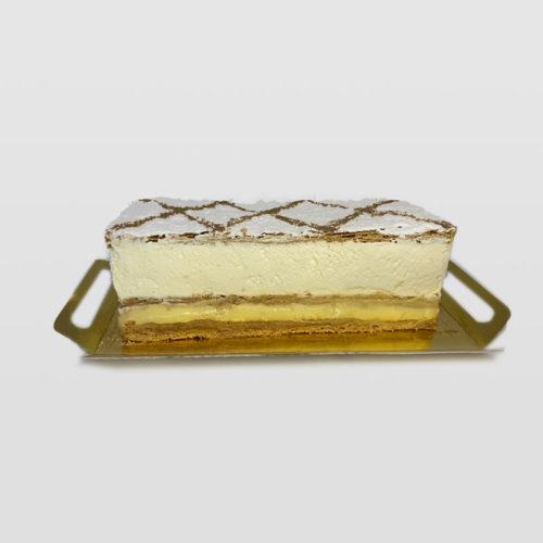Tarta Milhojas de Nata y Crema