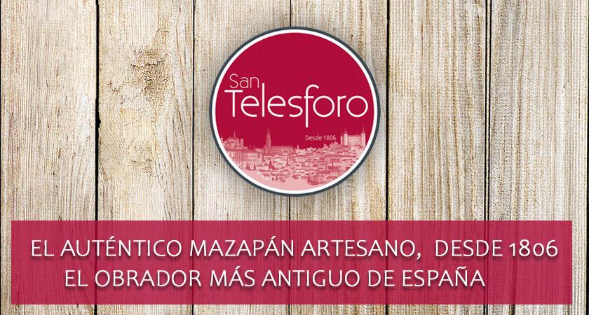 El auténtico MAZAPÁN Artesano, desde 1806. El obrador más antiguo de España.