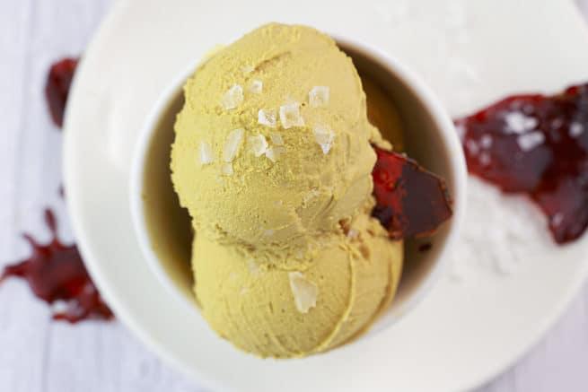 Helado de Caramelo Salado