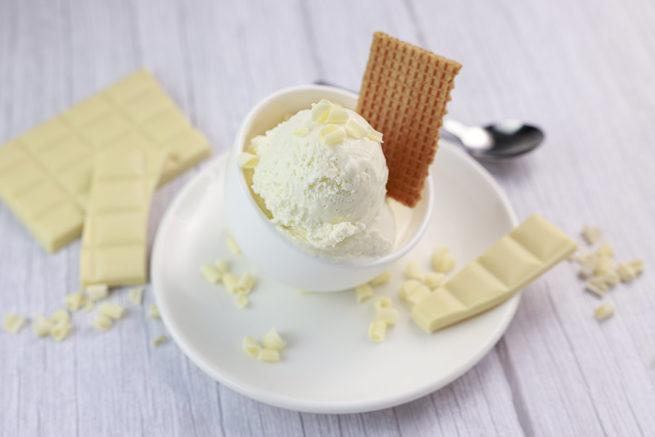 Helado de Chocolate Blanco